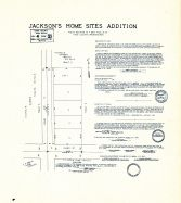 Jackson's Home Sites Addition, King County 1945 Vols 1 and 2